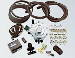 zestaw instalacji LPG