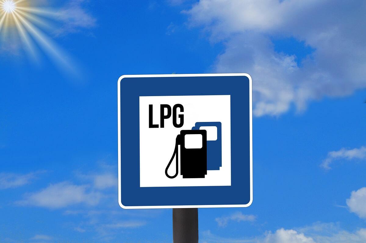 LPG znak